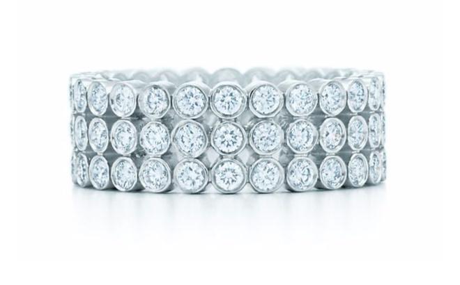 Кольцо Tiffany Jazz из платины, 886 000 р.