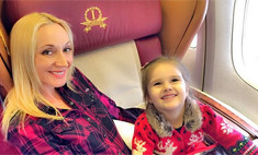 Кристина Орбакайте отметила трехлетие дочери в Майами