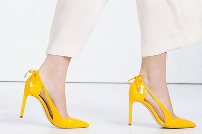 Туфли лодочки Zara, фото