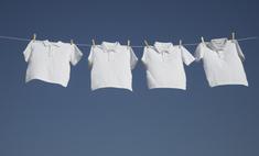 Как отстирать белую одежду в домашних условиях