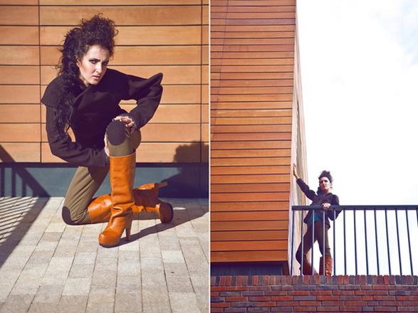 Коллекция одежды Сони Вагановой «Оттепель»
