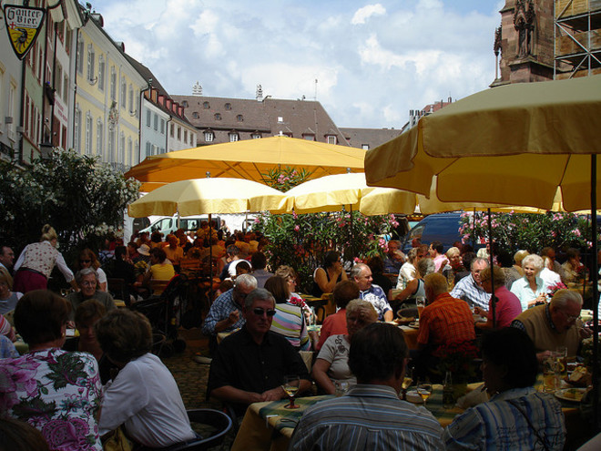 Винный фестиваль во Фрайбурге