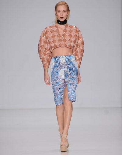 Показ коллекции FYODOR GOLAN осень-зима 2013/14 на Mercedes-Benz Fashion Week Russia