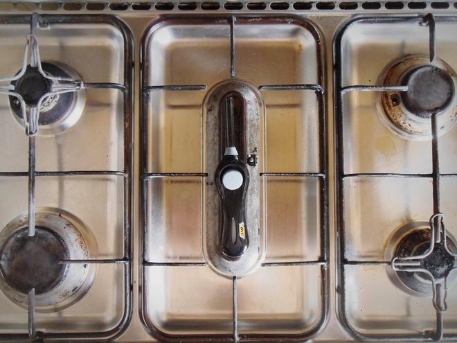 как почистить горелку газовой плиты