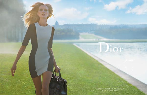 Рекламная кампания Dior Secret Garden