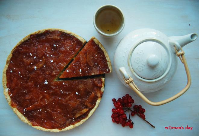 Яблочный пирог: рецепт фото