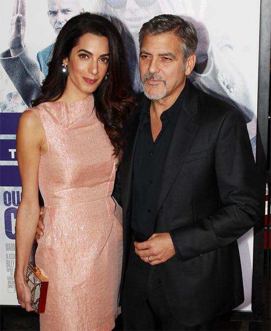 Амаль и Джордж Клуни фото