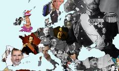 карта каком европейских странах свергнута монархия