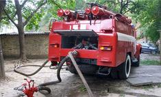 В Подмосковье сгорело семь бензовозов