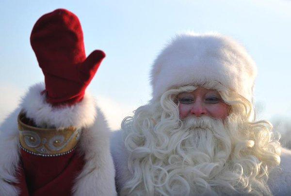 главный Дед Мороз страны