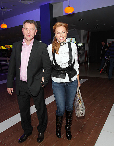 Актриса Наталья Бочкарева с супругом