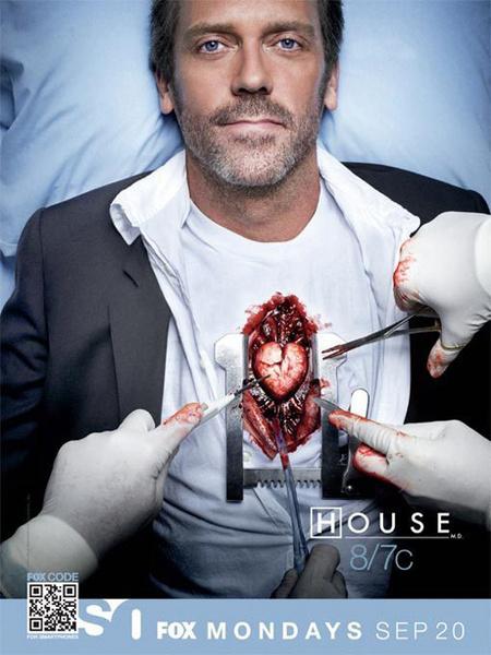 Одна из последних новостей о «Докторе Хаусе» - Хью Лори подписал контракт на участие в съемках 8 сезона.