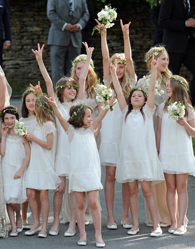 Подружки невесты Кейт Мосс