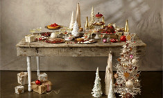 Новогодний стол: праздничное меню в разном стиле