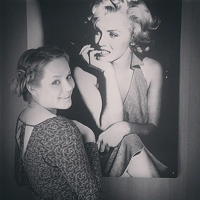Одна из актрис, на которую равняется Зоя, – Мэрилин Монро