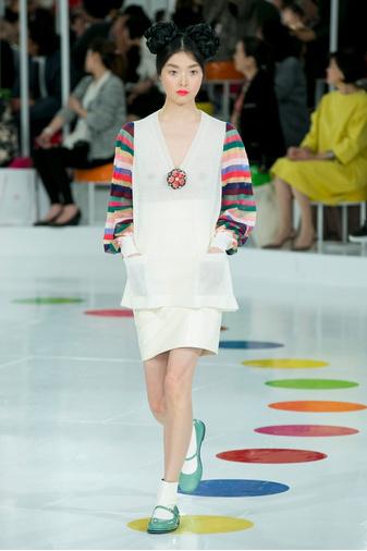 Показ круизной коллекции Chanel в Сеуле | галерея [1] фото [13]