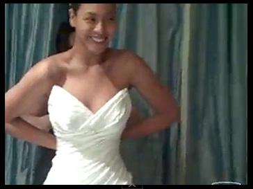 Бейонсе в свадебном платье