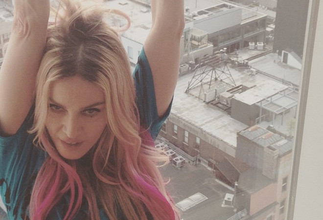 Мадонна, фото
