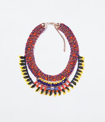 Плетеное ожерелье Zara