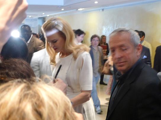Николь Кидман на пресс-конференции в Каннах