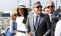 Жена выгоняет Джорджа Клуни из постели
