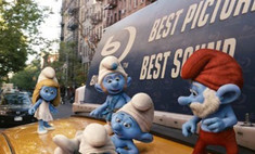 «Смурфики» стали лидером российского кинопроката