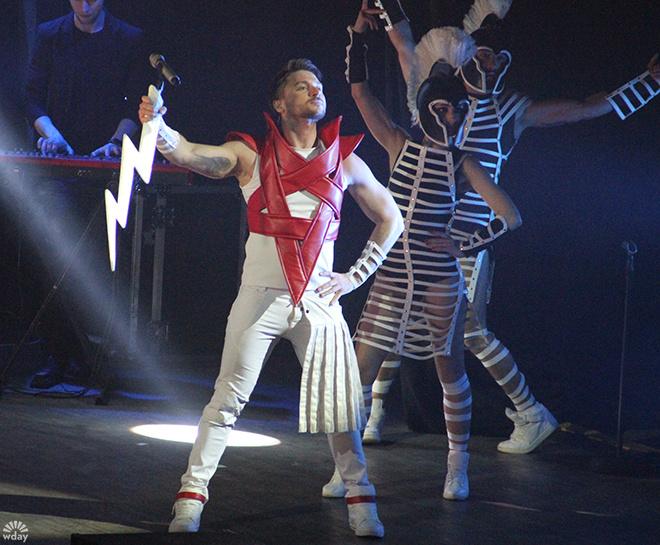 Сергей Лазарев 2016: концерт в Ростове, фото