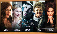 Объявлены претенденты на 86-ю премию «Оскар»