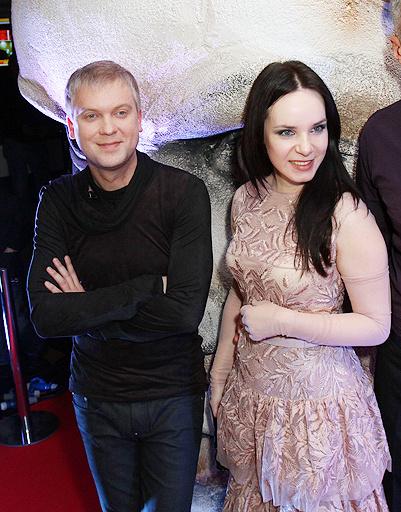 Сергей Светлаков и актриса Валда Бичкуте
