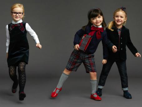Школьная форма 2014: тренды сезона для детей
