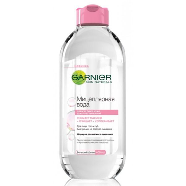 Garnier, Мицеллярная вода Очищающее средство для лица 3 в 1, 305 рублей