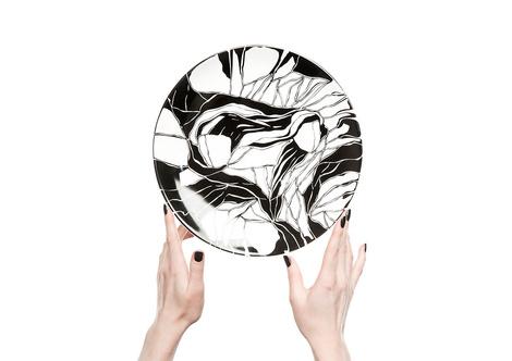 Керамические тарелки от молодого дизайнера Софии Соломко | галерея [1] фото [6]