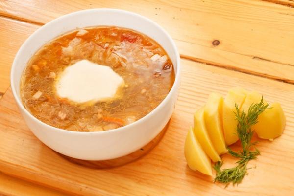 украинский пшонный суп видео рецепт