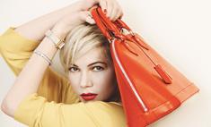 Мишель Уильямс во второй раз снялась для Louis Vuitton