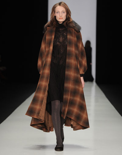 Показ коллекции Lena Tsokalenko осень-зима 2013/14 на Mercedes-Benz Fashion Week Russia
