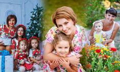 Парный выход: стильные мамы и дочки