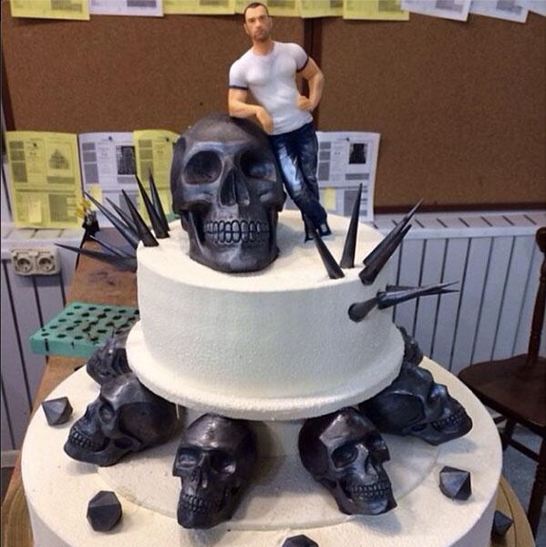 Праздничный торт Михаила Терехина