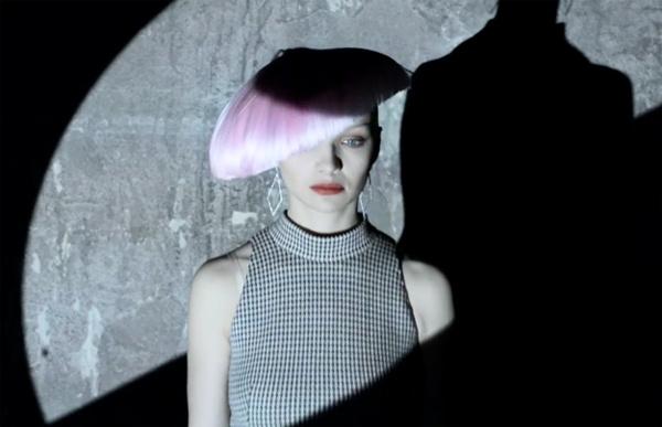 Екатерина Вилкова стала лицом российского модного дома Tegin