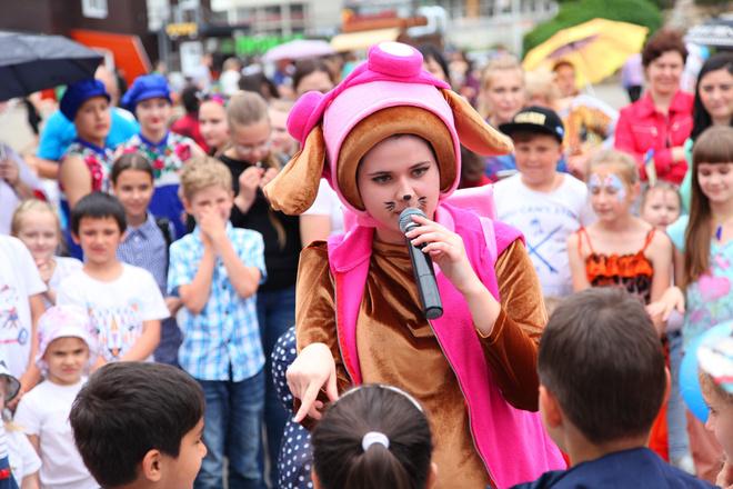 Детский конкурс на радио дача