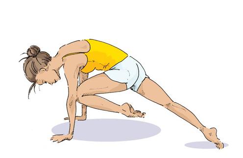 Йога 5 простых упражнений для пресса