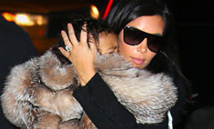 Ким Кардашьян подверглась нападкам из-за дочери