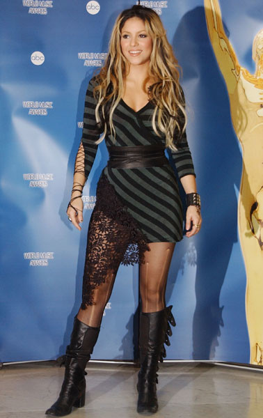 Шакира, 2002 год