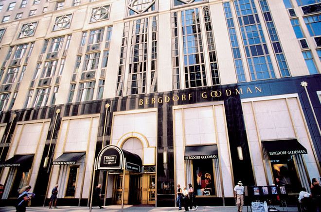 «Мне нравится ходить за покупками в универмаг Bergdorf Goodman на Манхэттене. Там отличный выбор дизайнерской одежды и обуви».