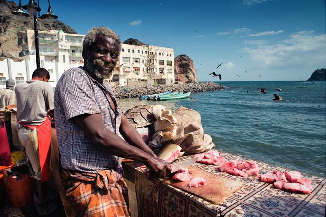 Рыбный рынок. Город