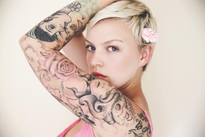 свести татуировку в домашних условиях