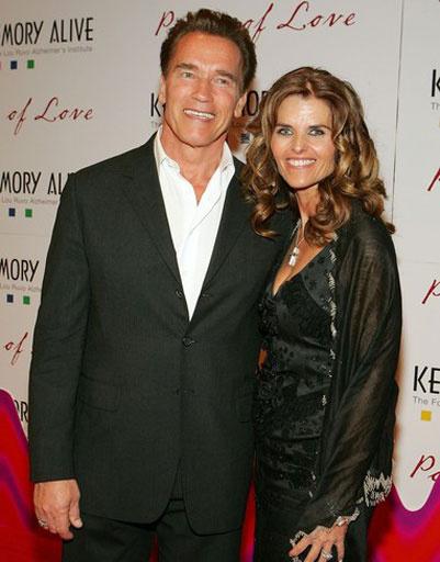 Арнольд Шварценеггер (Arnold Schwarzenegger) и жена Мария Шрайвер