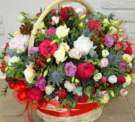 Цветы на день рождения мужчине