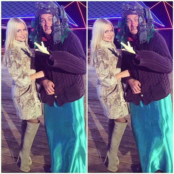 Алена Вражевская, Пальто и ботфорты