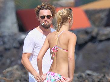 Леонардо ДиКаприо (Leonardo DiCaprio) и Эрин Хизертон (Erin Heatherton)