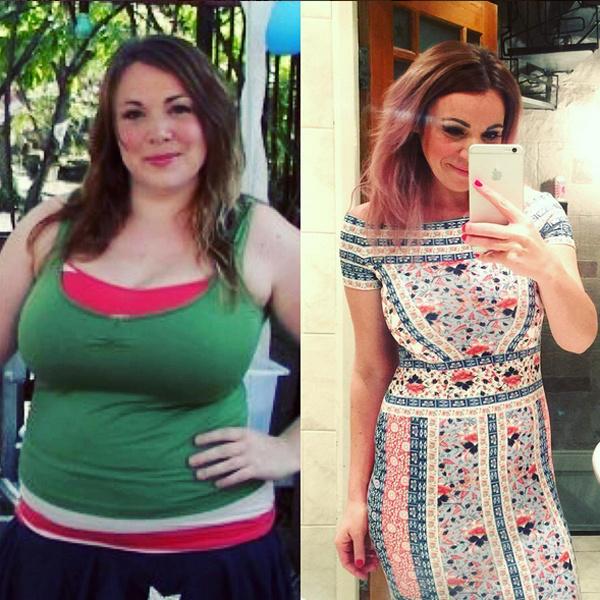 американка похудела с помощью силы мысли